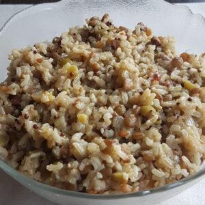 Comida Congelada Delivery - Arroz 7 grãos